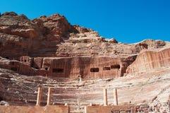 Petra som är arkeologisk parkerar, Jordanien, Mellanösten Fotografering för Bildbyråer