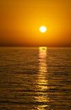 PETRA-Sonnenuntergang Stockfoto
