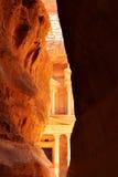 petra-tempelkassa arkivfoton
