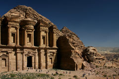 Petra temple Stock Photography