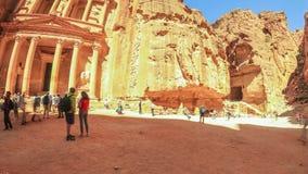 Petra Time Lapse stock footage