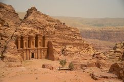 Petra tomb Royalty Free Stock Images