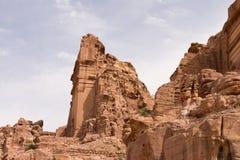 Petra Tombs do lado Fotos de Stock