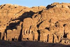 Petra tombs - Jordan Royalty Free Stock Photography