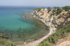 Petra tou ramio Stock Photos
