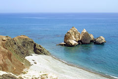 Petra tou Romiou Stock Photography