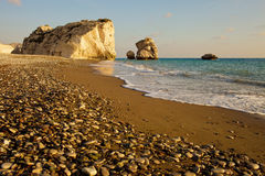 Petra tou Romiou Stock Photos