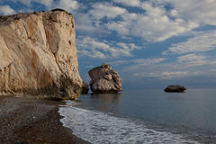 Petra tou Romiou. Stock Photography