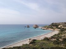Petra tou romiou Royalty Free Stock Images