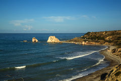 Petra tou Romiou. Cyprus Stock Photos