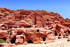Petra town Stock Photo