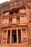 Petra - The treasury Stock Photography