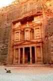 Petra, The Treasury Royalty Free Stock Photos