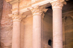 Petra Treasury closeup Royalty Free Stock Images