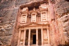 Petra Treasury Royalty Free Stock Photography