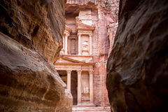 Petra Treasury Royalty Free Stock Image
