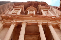 Petra, UNESCO World Heritage Site, Jordan, Middle East Stock Photography