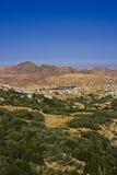 Petra village Stock Photo
