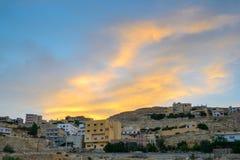Petra Village Stockbild