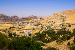 Petra Village Stockbilder