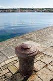 Petrcane, Croatia. Petrčane:  a 900 years-old beautiful small fisherman's village, 10 km northwest of Zadar Stock Images