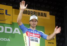 Petre Sagan Equipe Tinkoff - Saxo Bank Tour de France 2015 Stock Photo