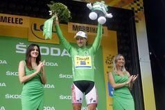 Petre Sagan Equipe Tinkoff - Saxo Bank Tour de France 2015 Stock Photos