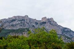 Petri Crimea krajobraz Zdjęcia Royalty Free