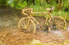 Petrified bike Stock Images