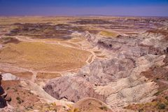 Petrified Forest National Park Royalty Free Stock Images