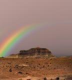 Petrified Forest Rainbow Royalty Free Stock Photos