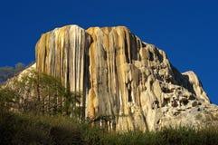 Petrified waterfalls Royalty Free Stock Photo