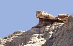 Petrified Wood at Petrified Forest National Park, Arizona, USA stock images