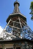 Petrin Ausblick-Kontrollturm Stockbild