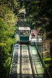 Petrin funicular in Prague Royalty Free Stock Images