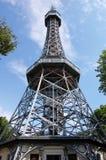 Petrin Kontrollturm Stockfoto