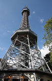 Petrin lookout tower. Stock Photography