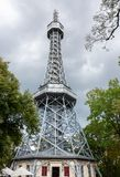 Petrin Lookout Tower In Prague Stock Photography