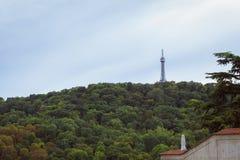 Petrin Lookout Tower - Petrinska rozhledna, Prague Royalty Free Stock Photos