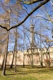 Petrin punktu obserwacyjnego wierza w Praga, republika czech Zdjęcie Stock
