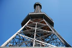 The Petrin Tower. Stock Photography