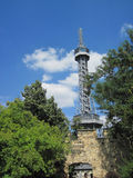 Petrin tower Royalty Free Stock Photos