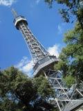 Petrin tower Stock Image