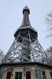 Petrin Tower of Prague Stock Image