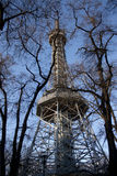 Petrin Tower Prague Stock Images