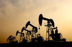 Petróleo e gás Fotos de Stock Royalty Free