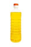 Petróleo en la botella aislada Fotografía de archivo libre de regalías