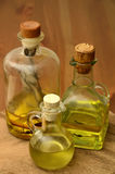 Petróleo verde-oliva e erval Imagem de Stock Royalty Free