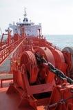 Petróleo y industria petrolera - buque de petróleo del grude Imagenes de archivo