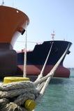 Petróleo y industria petrolera - buque de petróleo del grude Imagen de archivo libre de regalías